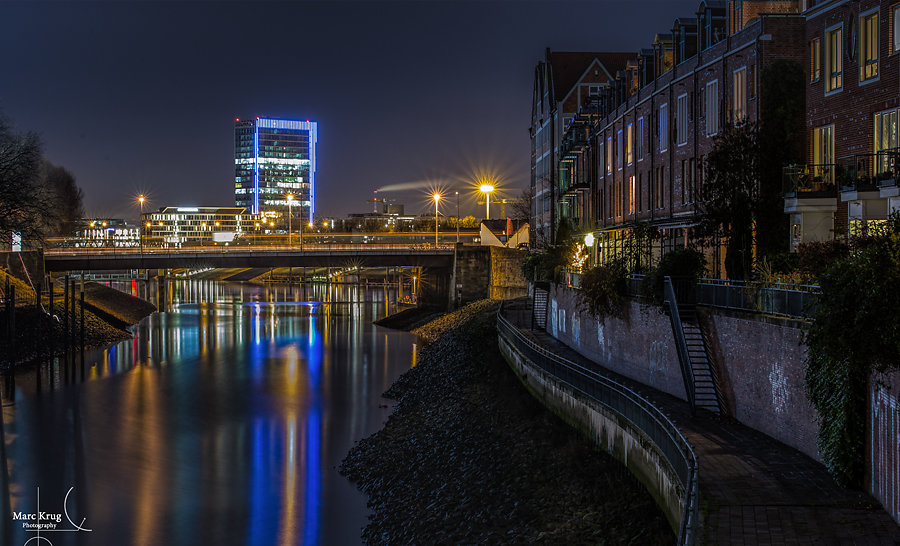 An der kleinen Weser