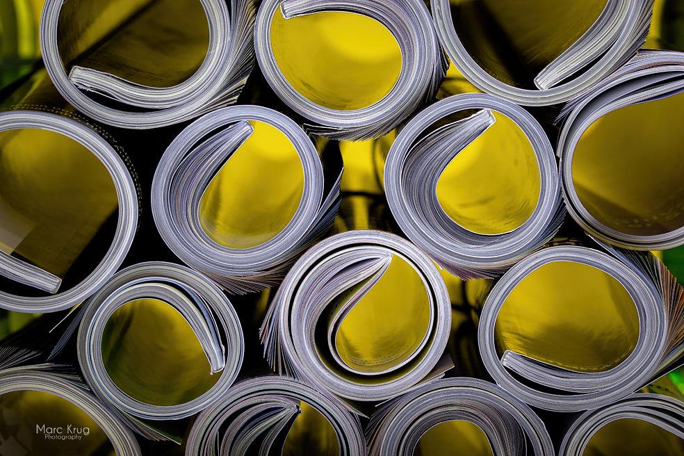Paper Rolls Yellow