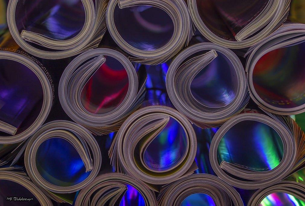 Paper Rolls Colours