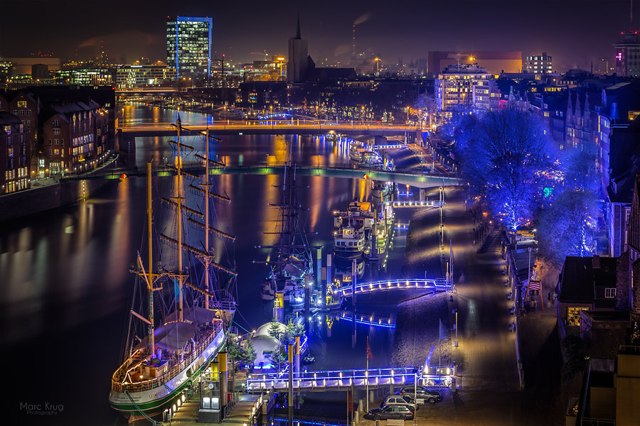 Christmas market at the weser